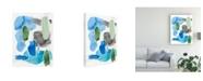 "Trademark Global Regina Moore Organic Groove I Canvas Art - 15.5"" x 21"""