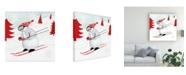 "Trademark Global Victoria Borges Seasonal Canvas Art - 15.5"" x 21"""
