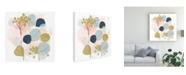 "Trademark Global June Erica Vess Floral Mazurka I Canvas Art - 15.5"" x 21"""