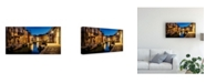 "Trademark Global Danny Head Daybreak in Burano II Canvas Art - 36.5"" x 48"""