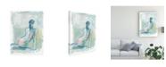 "Trademark Global Ethan Harper Modern Figure Study II Canvas Art - 19.5"" x 26"""