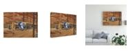 "Trademark Global Peter Snyder Industrial Theatre Canvas Art - 19.5"" x 26"""