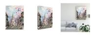 "Trademark Global Peter Potter Romantic Montreal Canvas Art - 19.5"" x 26"""