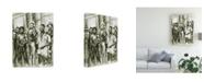 "Trademark Global Peter Potter Harlem Boys Canvas Art - 36.5"" x 48"""