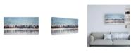 "Trademark Global PH Burchett Water Horses II Canvas Art - 19.5"" x 26"""