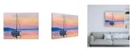 "Trademark Global Emily Kalina Sailing Portrait I Canvas Art - 36.5"" x 48"""