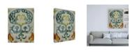"Trademark Global Chariklia Zarris Bohemian Ikat I Canvas Art - 19.5"" x 26"""