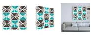 "Trademark Global June Erica Vess Kitwe VIII Canvas Art - 15.5"" x 21"""