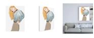 "Trademark Global June Erica Vess Fashion Vignette IV Canvas Art - 19.5"" x 26"""