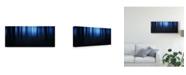 """Trademark Global Burger Jochen Blue Hour Lights Canvas Art - 15"""" x 20"""""""