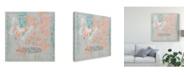 """Trademark Global Jennifer Goldberger Gray Garden I Canvas Art - 15"""" x 20"""""""