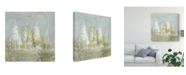 "Trademark Global June Erica Vess Treeline Collage I Canvas Art - 20"" x 25"""