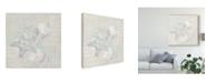 "Trademark Global June Erica Vess Weathered Shell Sketch I Canvas Art - 15"" x 20"""
