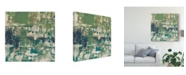 "Trademark Global Jennifer Goldberger Obscured Horizon I Canvas Art - 15"" x 20"""