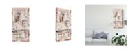 "Trademark Global Nikki Galapon Plans Four I Canvas Art - 20"" x 25"""