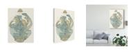 "Trademark Global Rob Delamater Abstract Vessel III Canvas Art - 15"" x 20"""