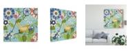 "Trademark Global Diane Kappa Flock Together II Canvas Art - 20"" x 25"""