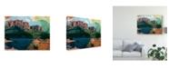 "Trademark Global Sisa Jasper Arizona Abstract Canvas Art - 20"" x 25"""