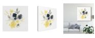"Trademark Global June Erica Vess Citron Bouquet I Canvas Art - 20"" x 25"""