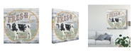 "Trademark Global June Erica Vess Farm Supply IV Canvas Art - 15"" x 20"""