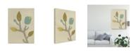 "Trademark Global June Erica Vess Simple Stems IV Canvas Art - 15"" x 20"""