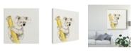 """Trademark Global Melissa Wang Baby Koala II Canvas Art - 15"""" x 20"""""""