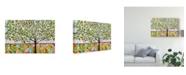 """Trademark Global Karen Fields Tree Abstract Canvas Art - 20"""" x 25"""""""