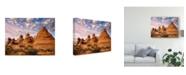 "Trademark Global David Drost Arizona Peaks I Canvas Art - 15"" x 20"""