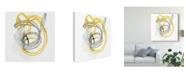 "Trademark Global June Erica Vess String Orbit I Canvas Art - 20"" x 25"""