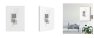 "Trademark Global June Erica Vess Block Print Composition II Canvas Art - 20"" x 25"""