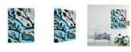 """Trademark Global Karen Fields Abstract Tree Limbs I Canvas Art - 37"""" x 49"""""""