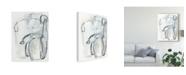 "Trademark Global June Erica Vess Entanglements II Canvas Art - 20"" x 25"""