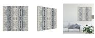 "Trademark Global Jennifer Goldberger Mirrored Strata IV Canvas Art - 20"" x 25"""