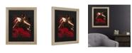 "Trademark Global Masters Fine Art Flamenco Dancer Matted Framed Art - 27"" x 33"""