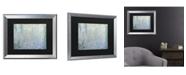 """Trademark Global Claude Monet Waterlillies Morning II Matted Framed Art - 20"""" x 25"""""""