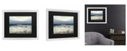 "Trademark Global Masters Fine Art Low Tide Matted Framed Art - 20"" x 25"""