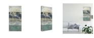 "Trademark Global Jennifer Goldberger Lines and Waves I Canvas Art - 20"" x 25"""