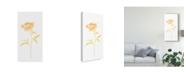 """Trademark Global June Erica Vess Bouquet Blush II Canvas Art - 20"""" x 25"""""""