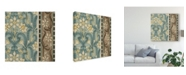"Trademark Global Vision Studio Nouveau Textile Motif III Canvas Art - 15"" x 20"""