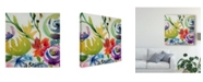 "Trademark Global Chariklia Zarris Summer Spectrum II Canvas Art - 15"" x 20"""