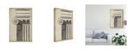 "Trademark Global Vision Studio Architectural Composition I Canvas Art - 37"" x 49"""