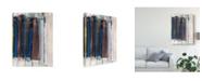 """Trademark Global Jodi Fuchs Art Notebook I Canvas Art - 20"""" x 25"""""""
