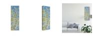 "Trademark Global Sharon Chandler Spring Poplars II Canvas Art - 20"" x 25"""