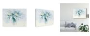 "Trademark Global Carol Rowan Contemporary Lilac Blue Canvas Art - 37"" x 49"""