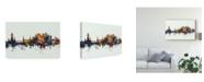"Trademark Global Michael Tompsett Stirling Scotland Skyline IV Canvas Art - 20"" x 25"""