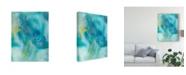 """Trademark Global Joyce Combs Sea Jade I Canvas Art - 15"""" x 20"""""""