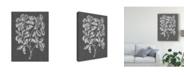 "Trademark Global Vision Studio Graphic Foliage I Canvas Art - 15"" x 20"""