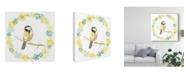 """Trademark Global June Erica Vess Solo Songbird II Canvas Art - 15"""" x 20"""""""