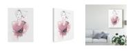 "Trademark Global June Erica Vess Fashion Splash V Canvas Art - 15"" x 20"""