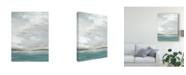 "Trademark Global June Erica Vess Seafoam Vista I Canvas Art - 15"" x 20"""